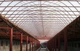 中空板采光雨棚